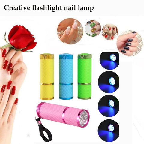 Portable Mini LED Nail Curer - [variants]