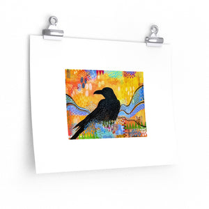 Roven's Raven, Open Edition Print, Unsigned