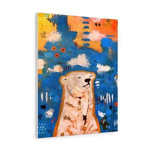 "Gallery Wrapped Canvas of ""Nanook"""