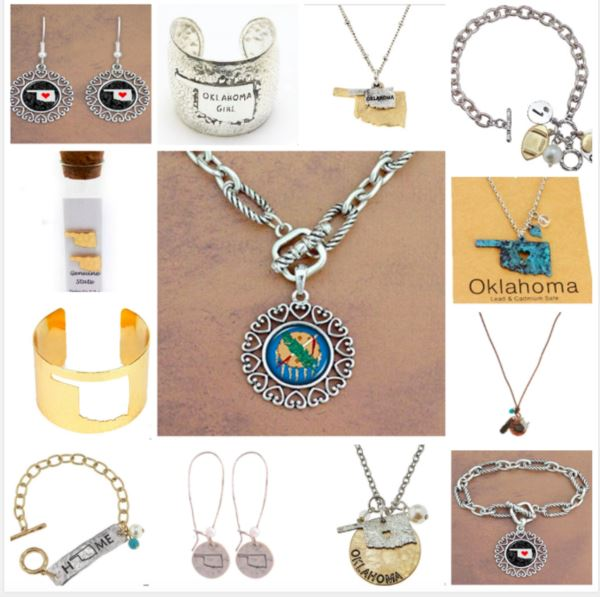 Boomtown carries the coolest Oklahoma Jewelry