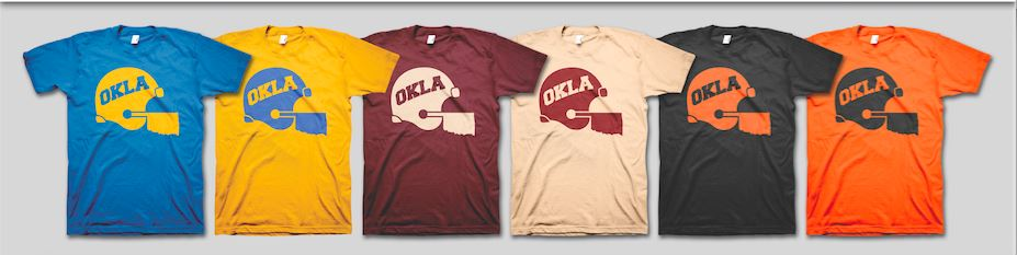 Oklahoma Football Fan Tees