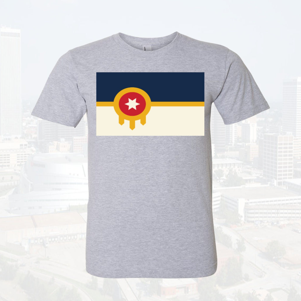 Tulsa Flag Unisex Youth Featured Tee $14 - Boomtown Tees
