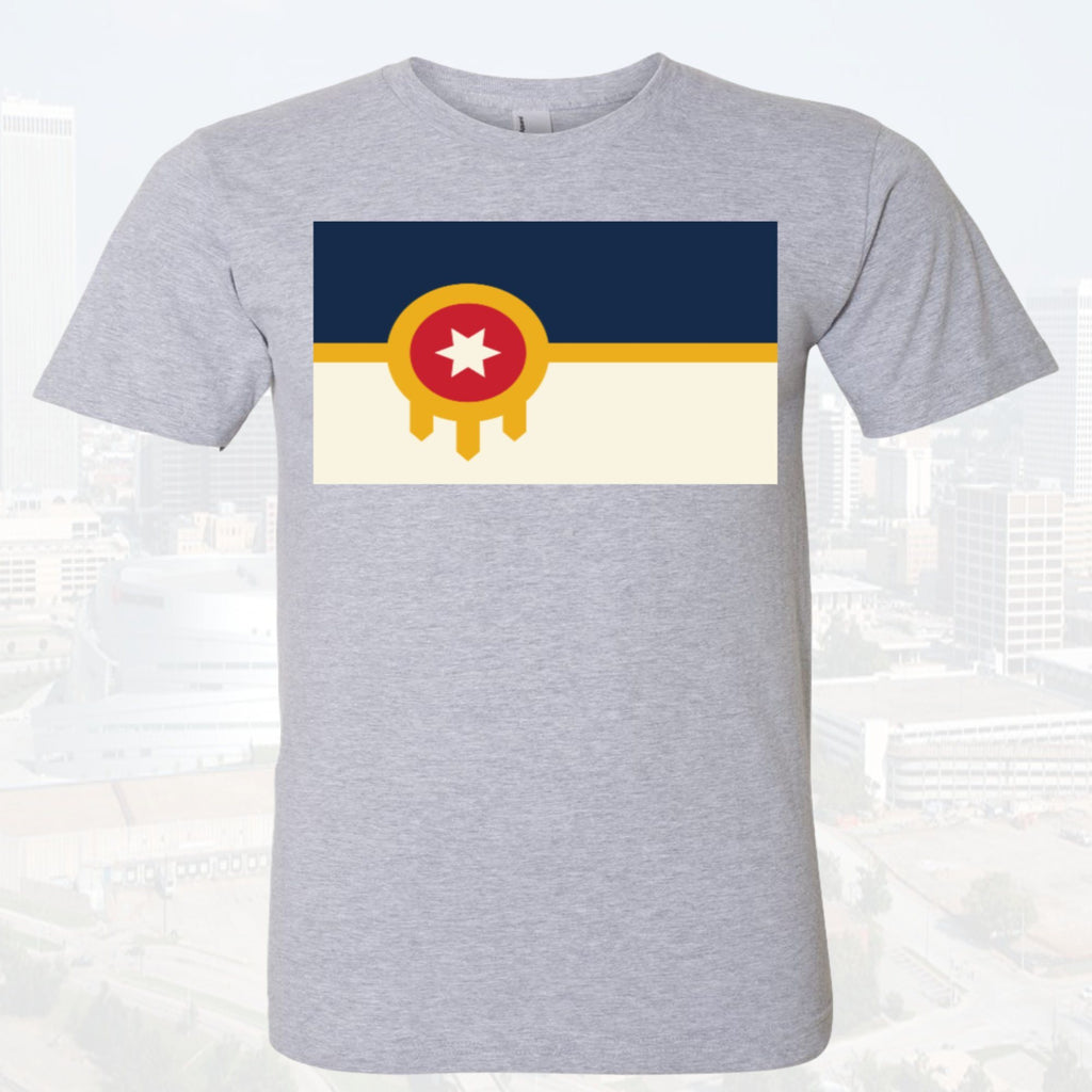 Tulsa Flag Unisex Featured Tee $17 - Boomtown Tees