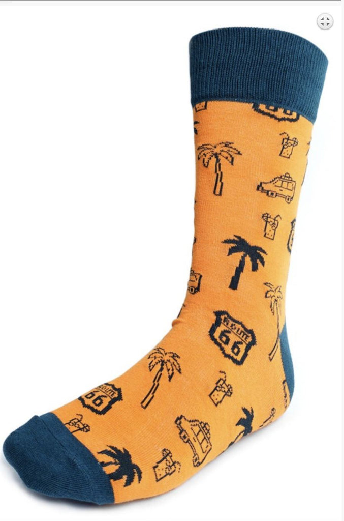 Route 66 Mother Road Socks - Boomtown Tees
