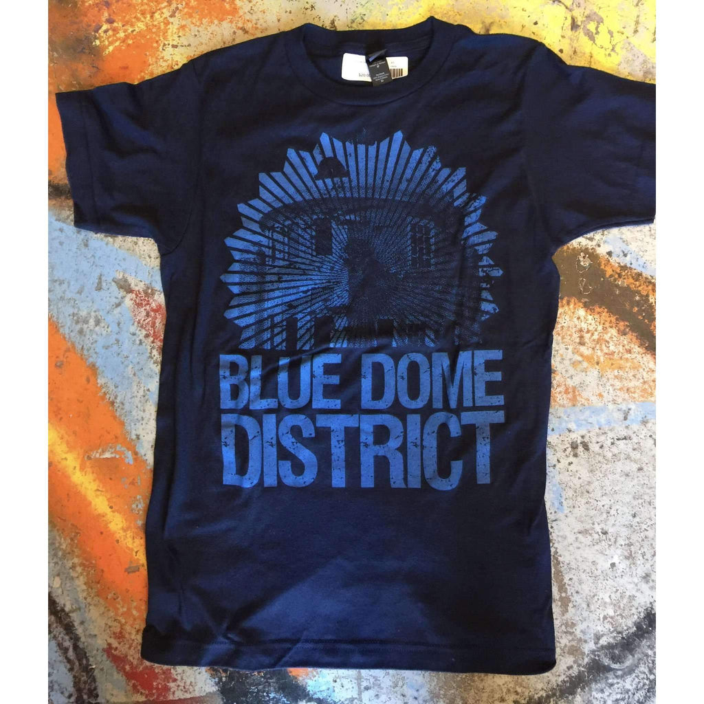 Blue Dome District Downtown Tulsa, OK Souvenir Tee T-shirt - Boomtown Tees