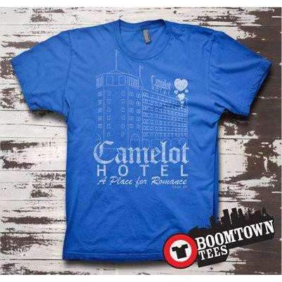Camelot Hotel A Place For Romance Tee Tulsa Nostalgic t-shirt Tee - Boomtown Tees