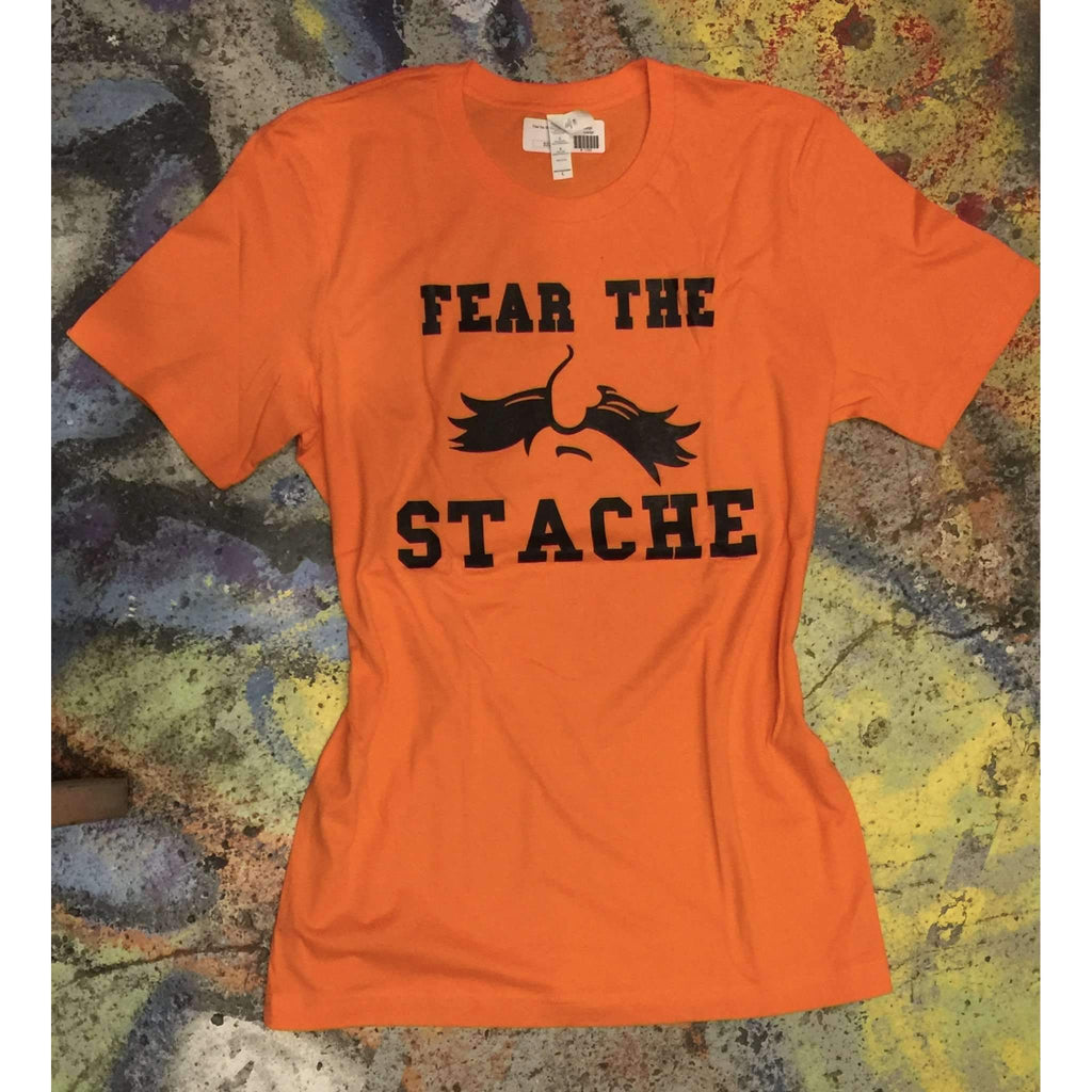 Fear the Stache Tee Oklahoma Football Stillwater T-shirt - Boomtown Tees