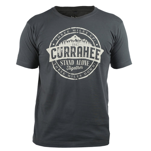 Currahee Charcoal Grey T-Shirt WWII Nation