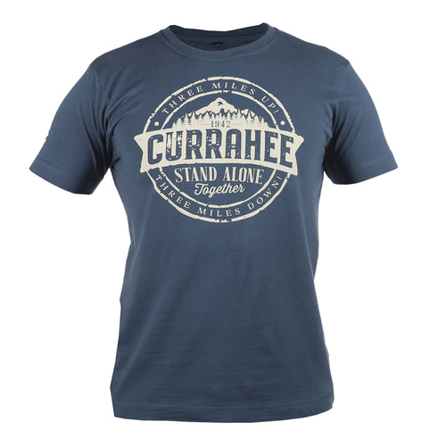 Currahee Denim Blue T-Shirt WWII Nation