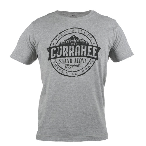 Currahee Melange Grey T-Shirt WWII Nation