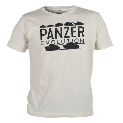 Panzer Evolution Linen T-Shirt WWII Nation