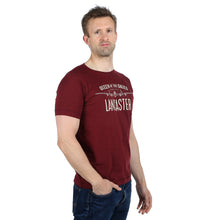 Queen of the Skies Lancaster Burgundy T-Shirt WWII Nation