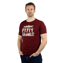 Scramble Burgundy T-Shirt WWII Nation