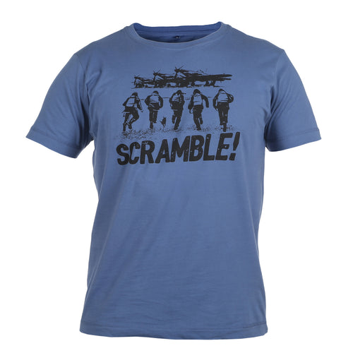 Scramble Faded Denim T-Shirt WWII Nation