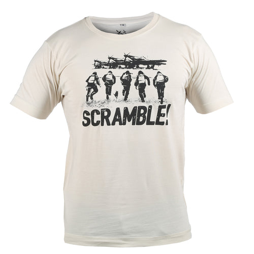Scramble Linen T-Shirt WWII Nation