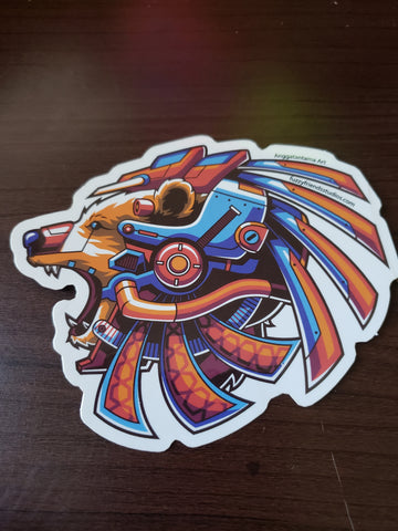 Bear Droid Sticker