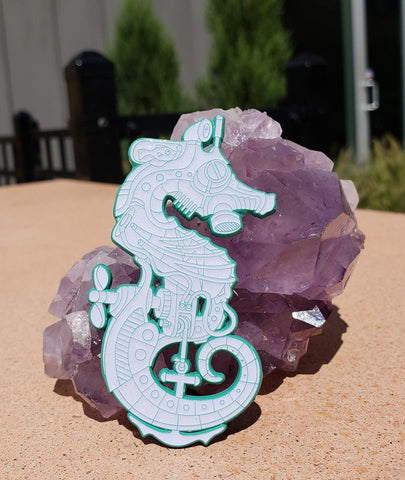 Opal Seahorse Soldier