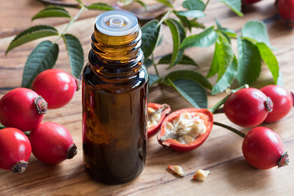 Image of bottle containing Rosehip Blend for Sensitive Skin / Large Pores