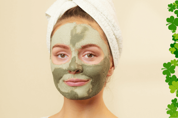 St Patricks Day Green Clay Face Mask Recipe
