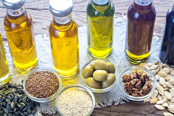 image of different oils for basic oil gelée