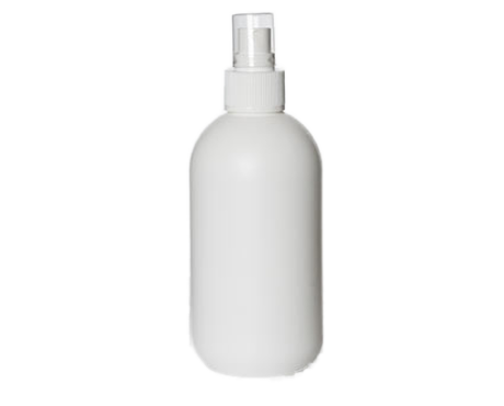 Bottle, White Plastic (Without Cap) 250ml, DISCONTINUED