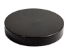 Cap, Black Polypropylene (PP) lid for only our 15ml clear glass jar