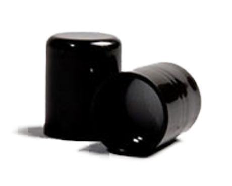 Cap, Black Screw Cap (to suit 50ml and 100ml PET bottles)