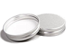 Cap, Silver Aluminium Lid for 15ml clear glass jar
