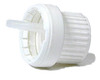 Cap, White Plastic Tamper Evident Dropper Large (2.0mm)