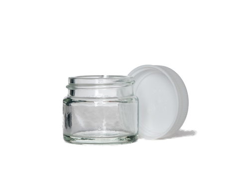 Jar, Clear Glass (15 ml)