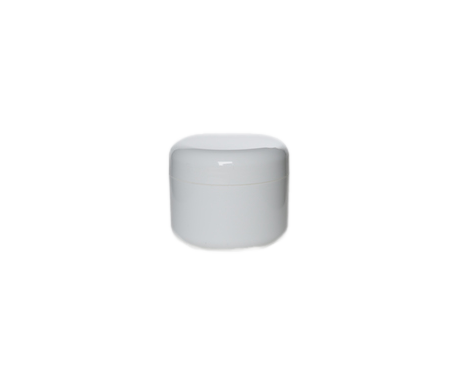 Jar, White Plastic (30 ml)