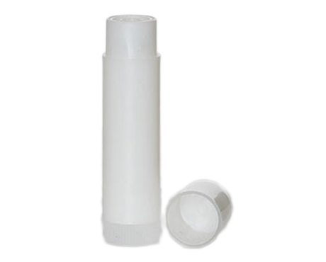 Lip Balm Cylinder, Semi Transparent Plastic (4.5 ml)