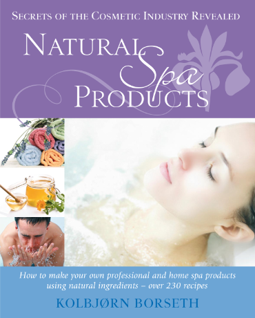 Natural Spa Products eBook