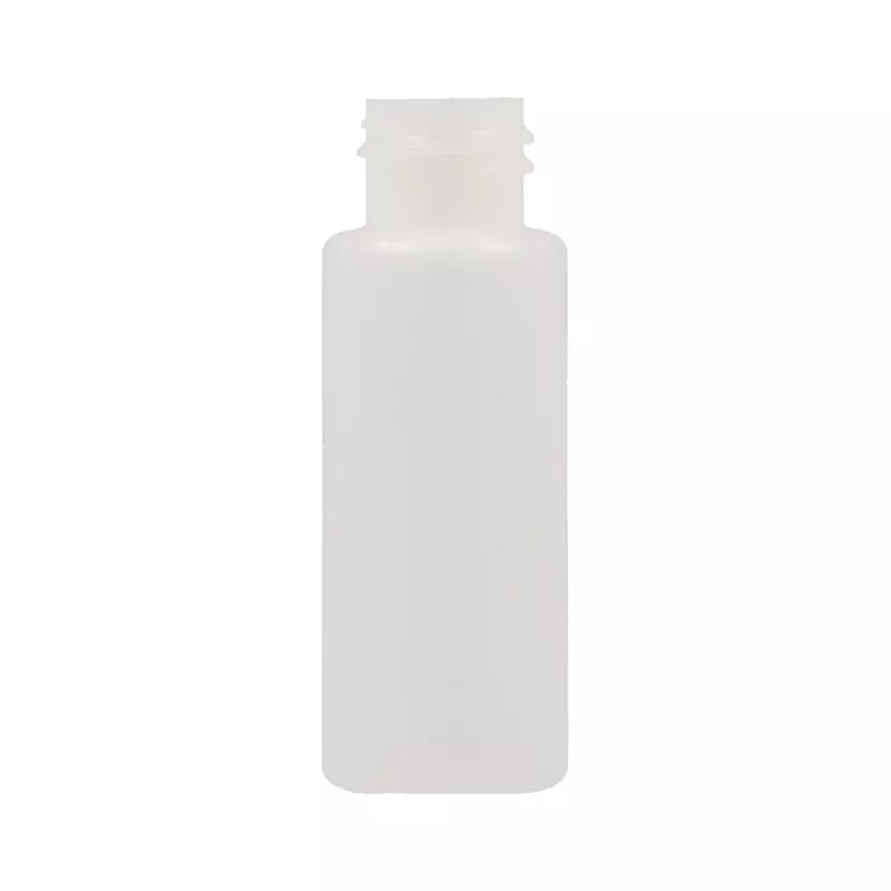 Bottle, Semi T Plastic with Black Screw Cap 30ml