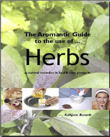 eB22 The Aromantic Guide to the use of Herbs in Skin, Hair and Health Care Products eBook Edition