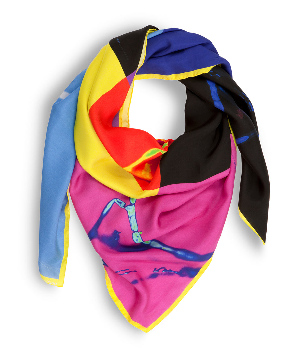 Freedom Colourful Silk Scarf