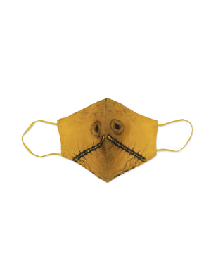 Chaetoceros Gold offcut mask + 'Marine Science is Beautiful' organic cotton string bag