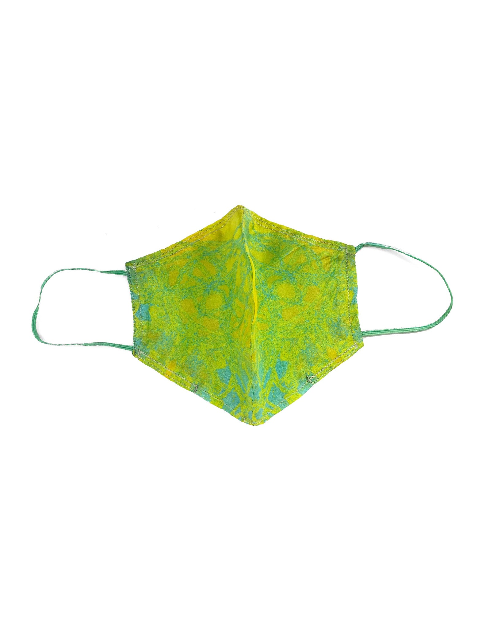Eury offcut mask + 'Marine Science is Beautiful' organic cotton string bag