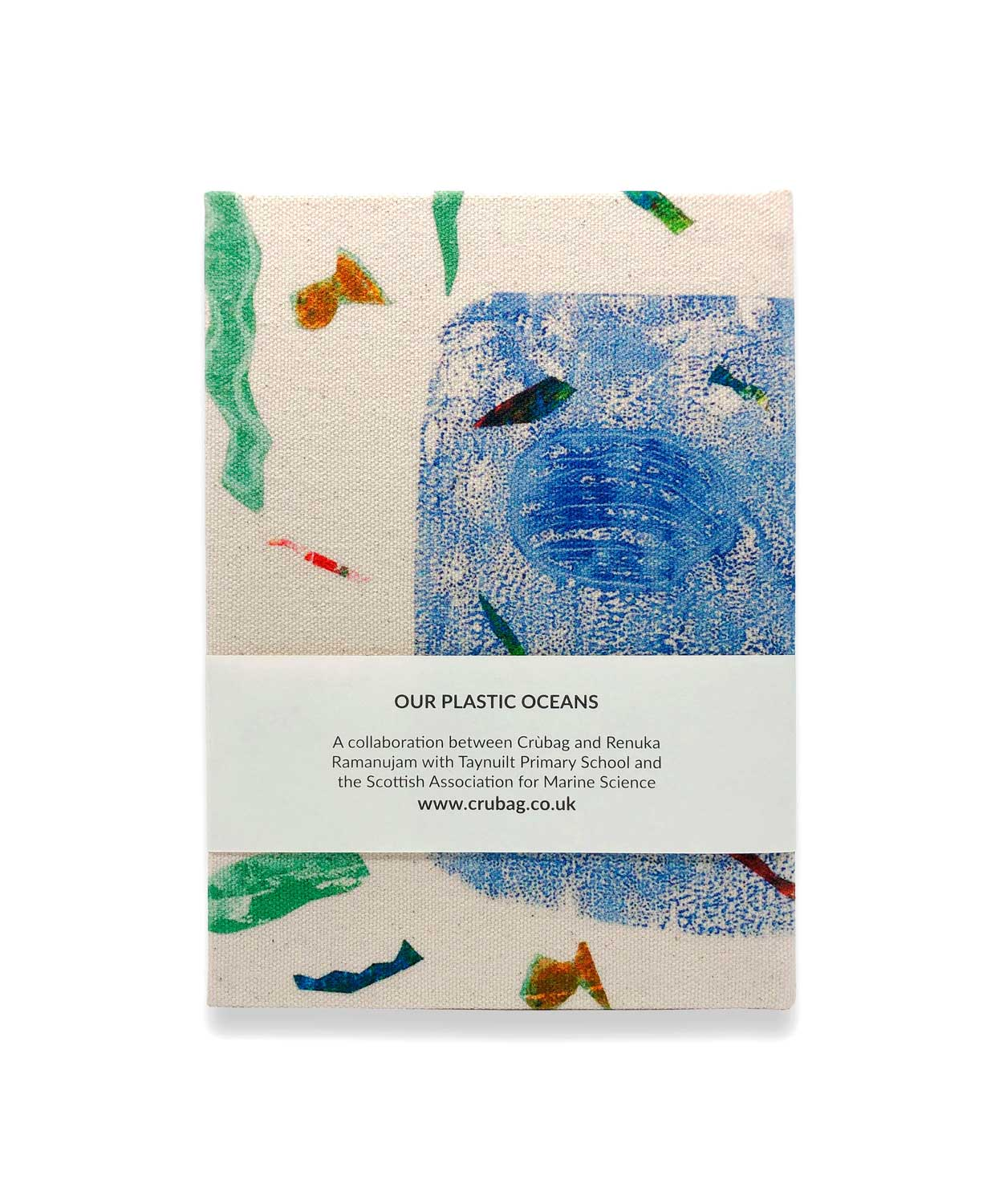Our Plastic Oceans Notebook - by Isobel