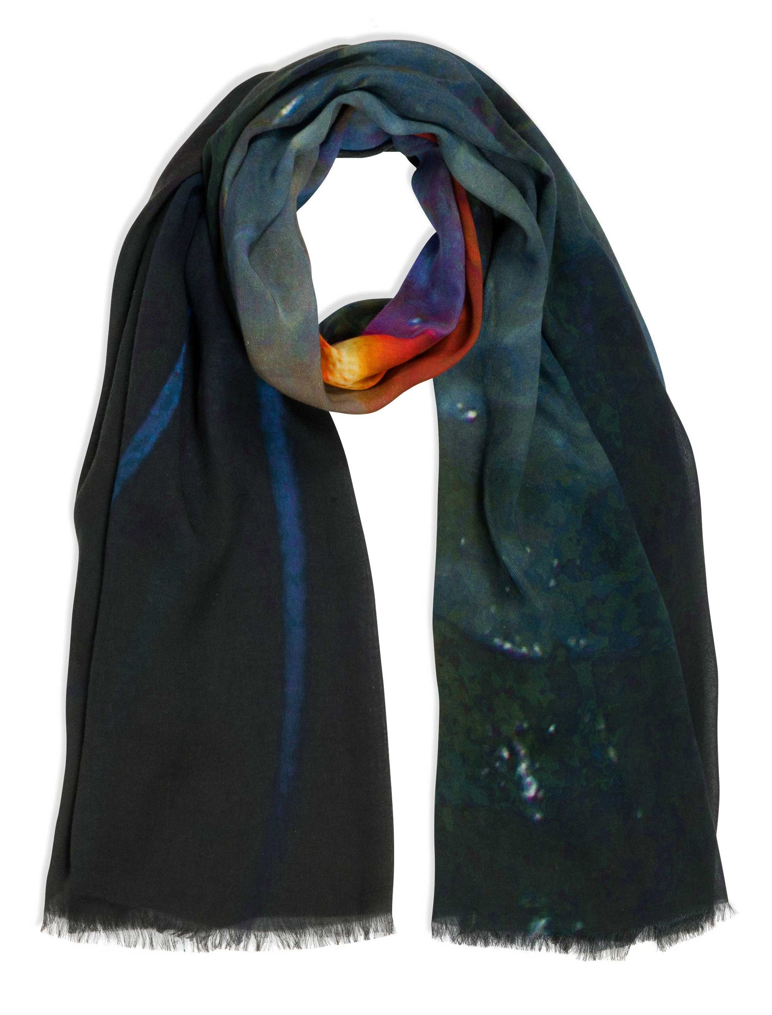 Iphimediidae Natural Modal Cashmere Blend Maxi Scarf