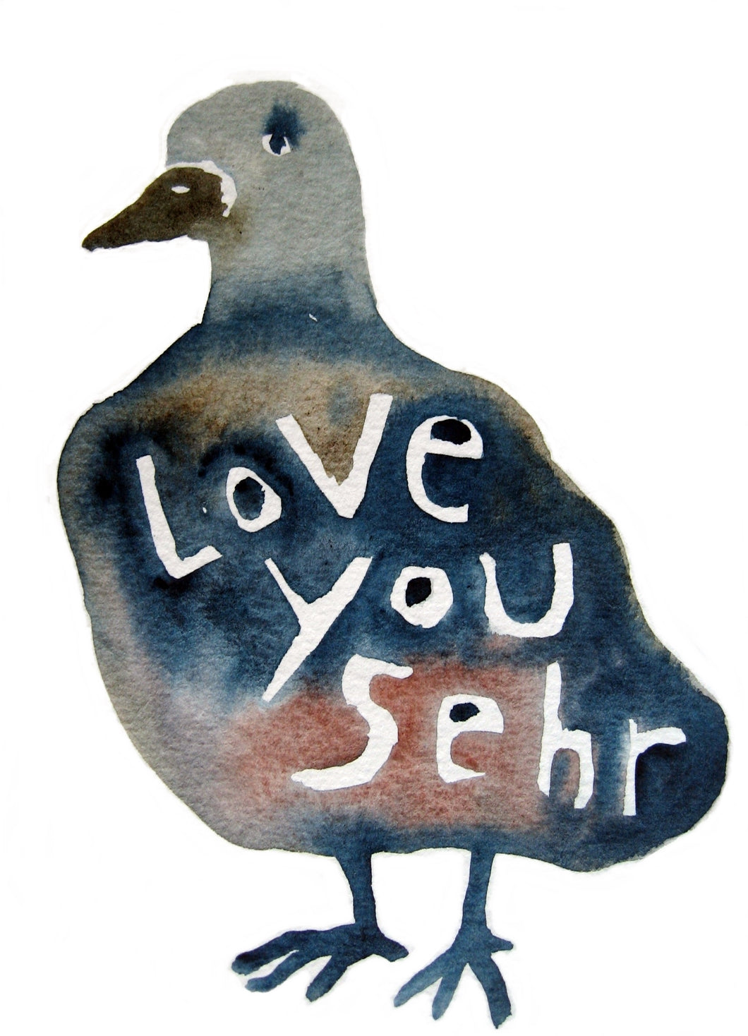 love you sehr print