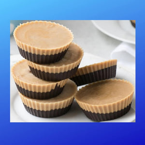 Low-Carb Chocolate Peanut Butter Cups.