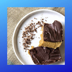 Keto_friendly High Fat Peanut Butter Bars.