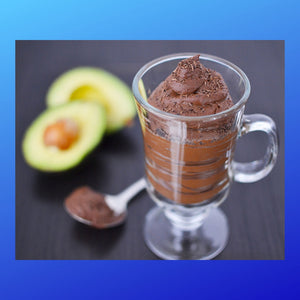 Luscious Avocado Chocolate Mousse