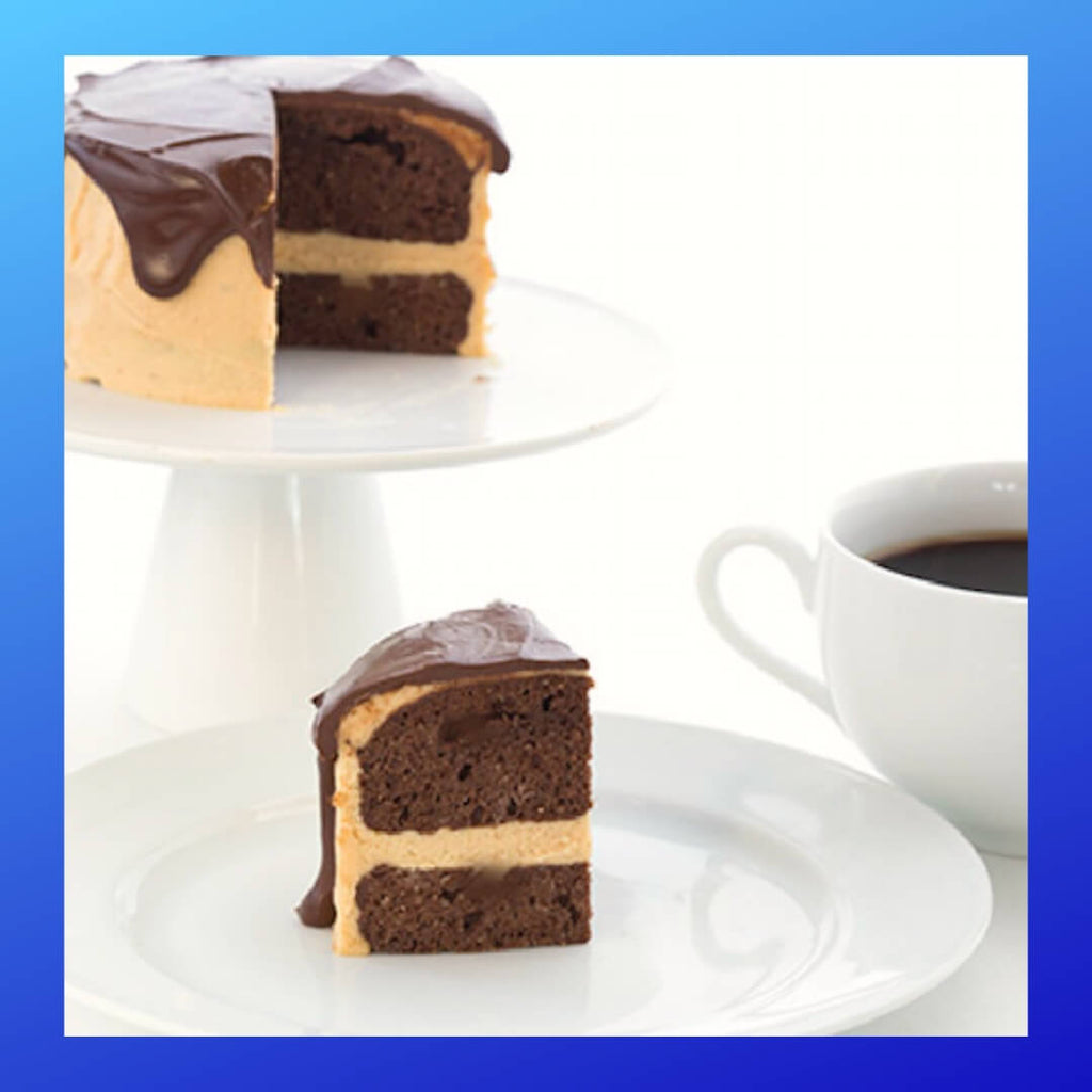 Amazingly Tasty & Easy Made Peanut Butter Chocolate Layer Cakes