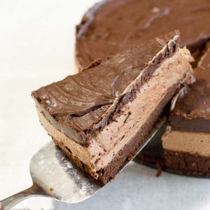 Tremendously Delicious No-Bake Chocolate Cheesecake.