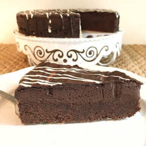 Heavenly Brownie Chocolate Mousse Cake Sugar-Free/Low-Carb/Keto
