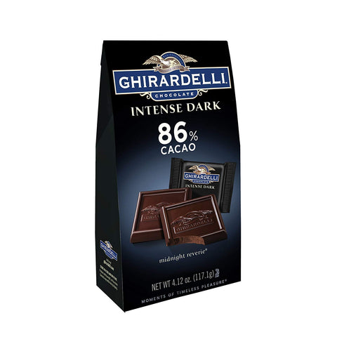 Ghirardelli Intense Dark Chocolate Squares - 86% Cacao