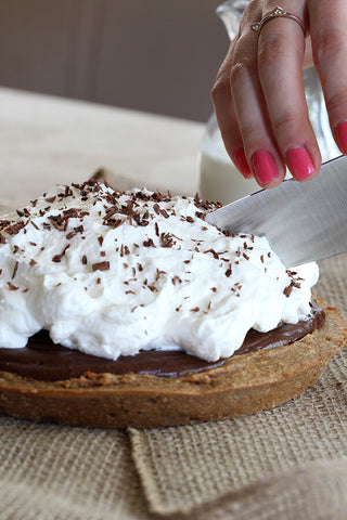Peanut Butter & Chocolate French Silk Pie