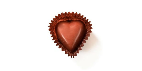 chocolate heart low carb